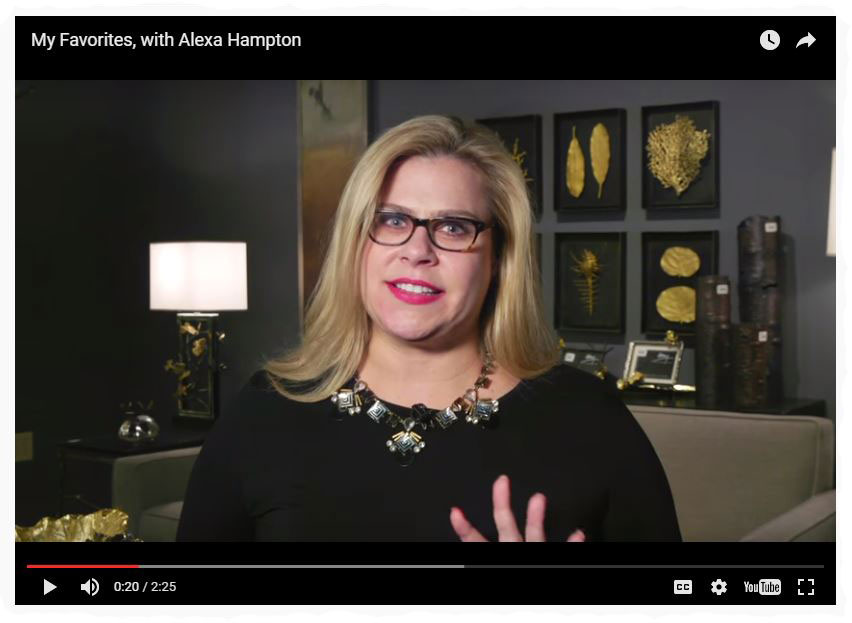 Alexa Hampton's Favorites at High Point Market filmed by High Point Market Authority