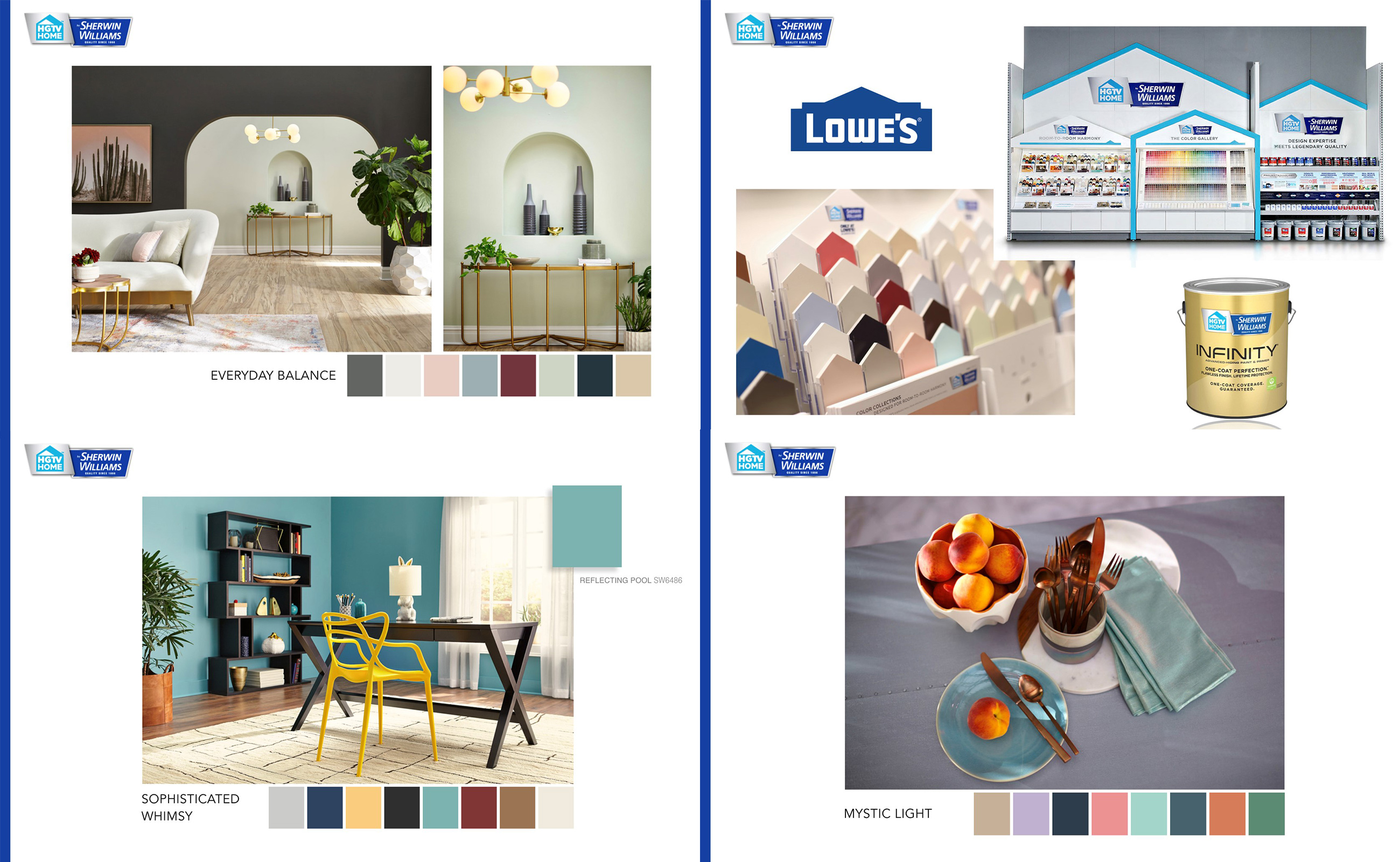 2019 HGTV HOME™ by Sherwin Williams Color Collections