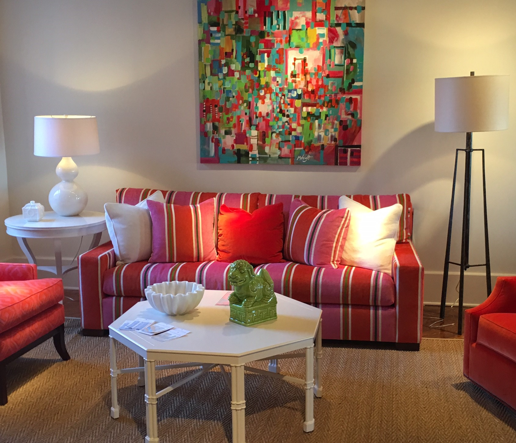 High Point Market Designer Finds Colorful Collections