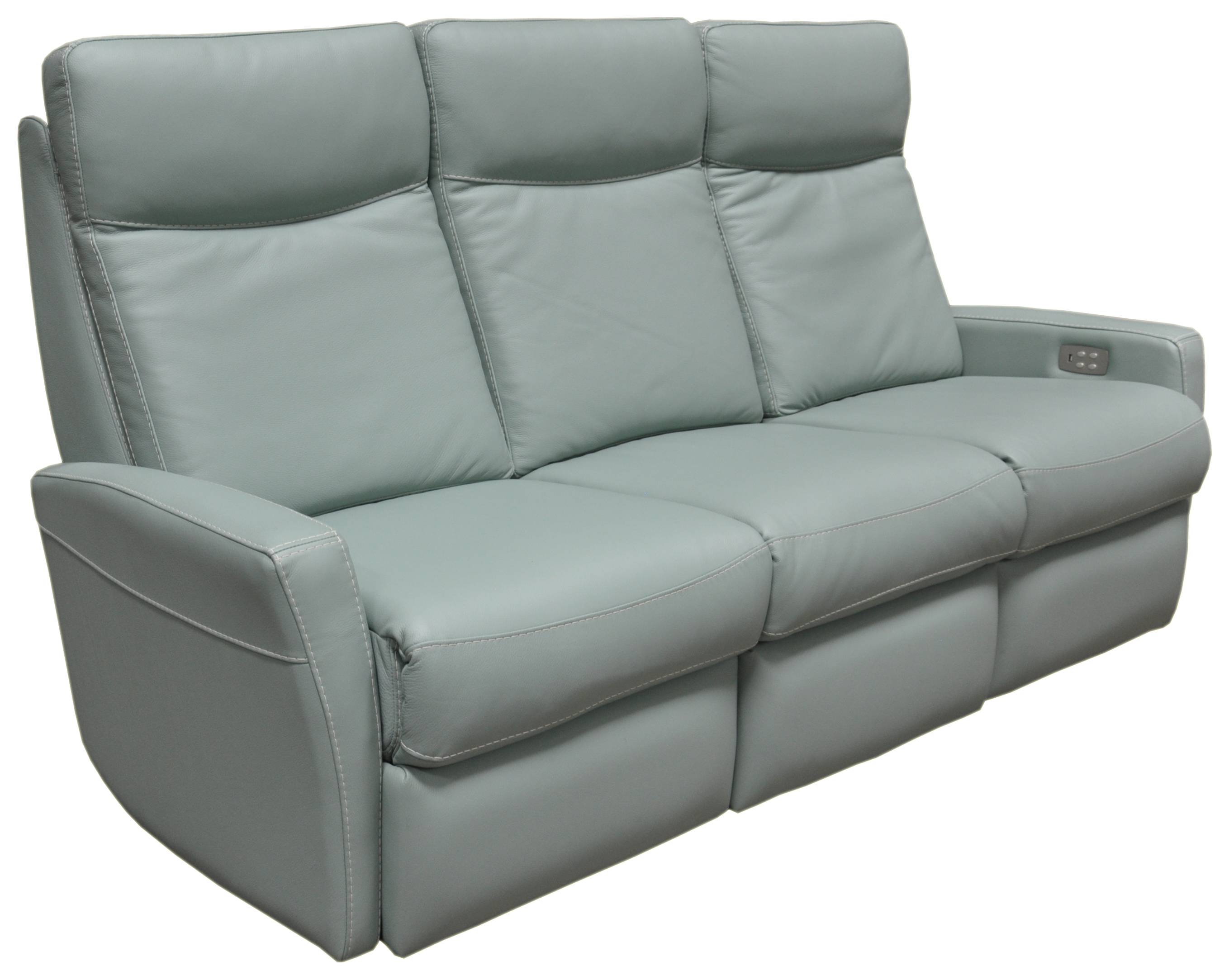 Lazio Reclining Sofa, Omnia Leather