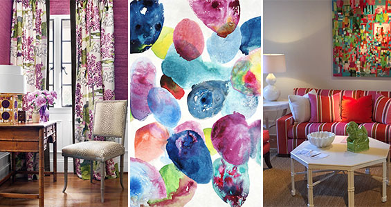 Shayla Copas, Shayla Copas Interiors shares her colorful finds from Fall 2016 High Point Market