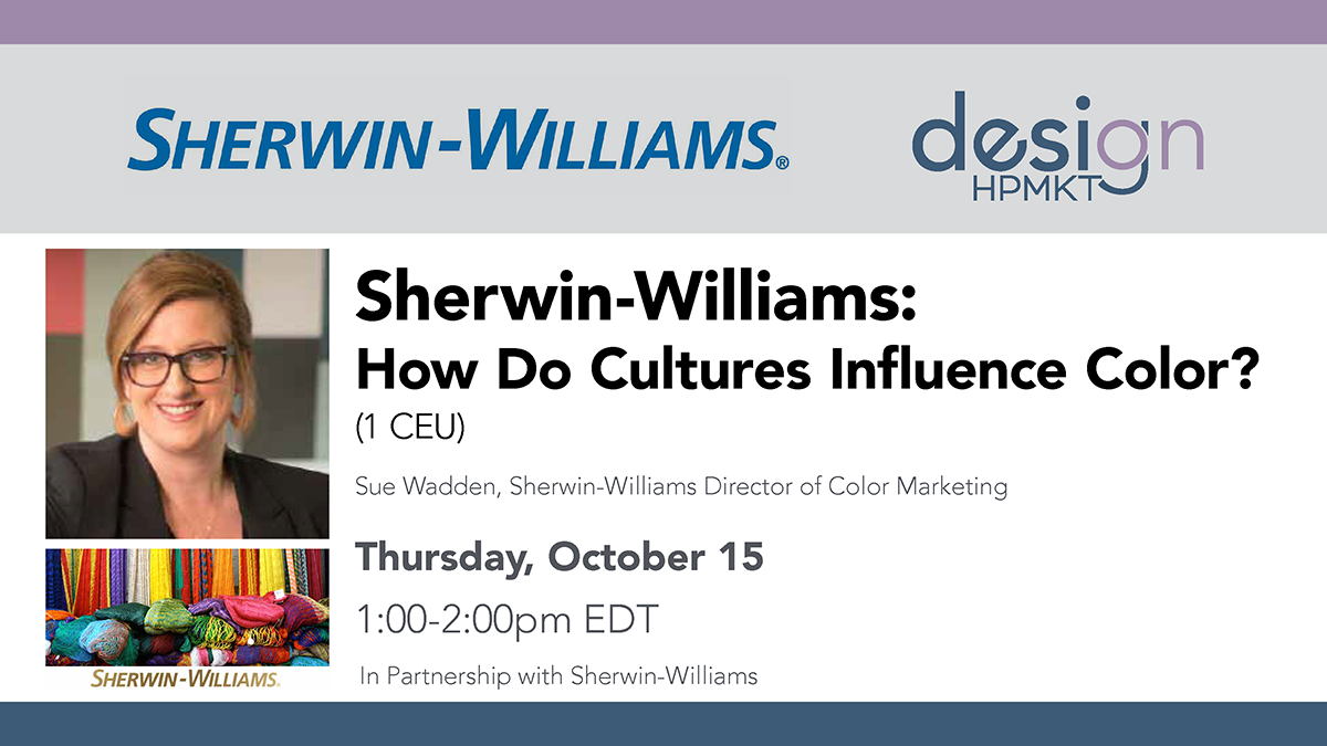 Sherwin-Williams: How Do Cultures Influence Color? HPF20