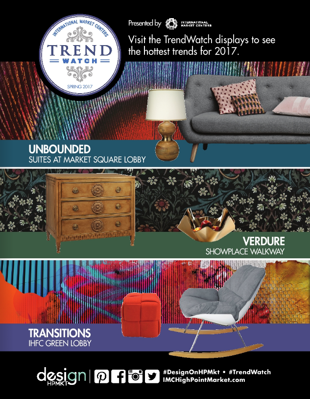 TrendWatch Spring 2017: Unbounded, Verdure, Transitions